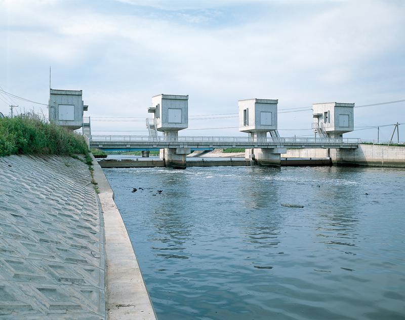 二級河川新川吉崎堰