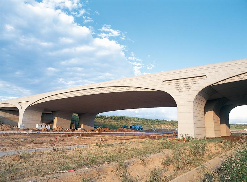 千葉北部地区公共都市計3.3.24橋架工事