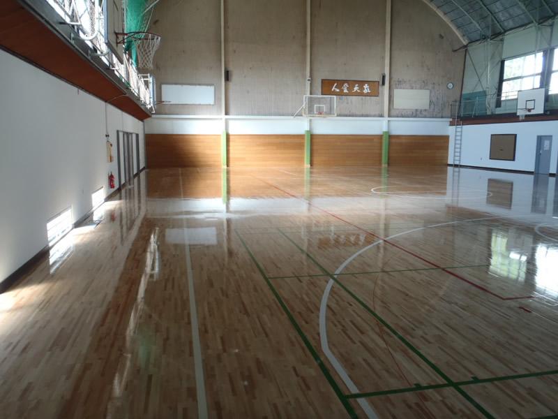 敬愛大学八日市場高等学校 体育館改修工事