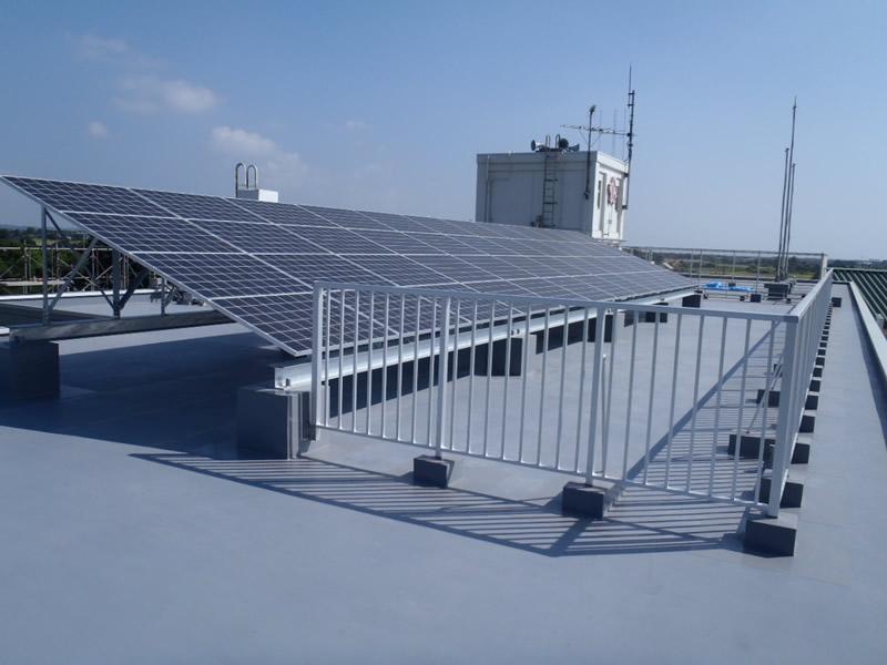 蓮沼小学校太陽光発電設備設置工事