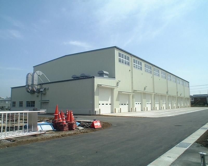 防衛庁防衛施設局習志野(14)車輌整備工場
