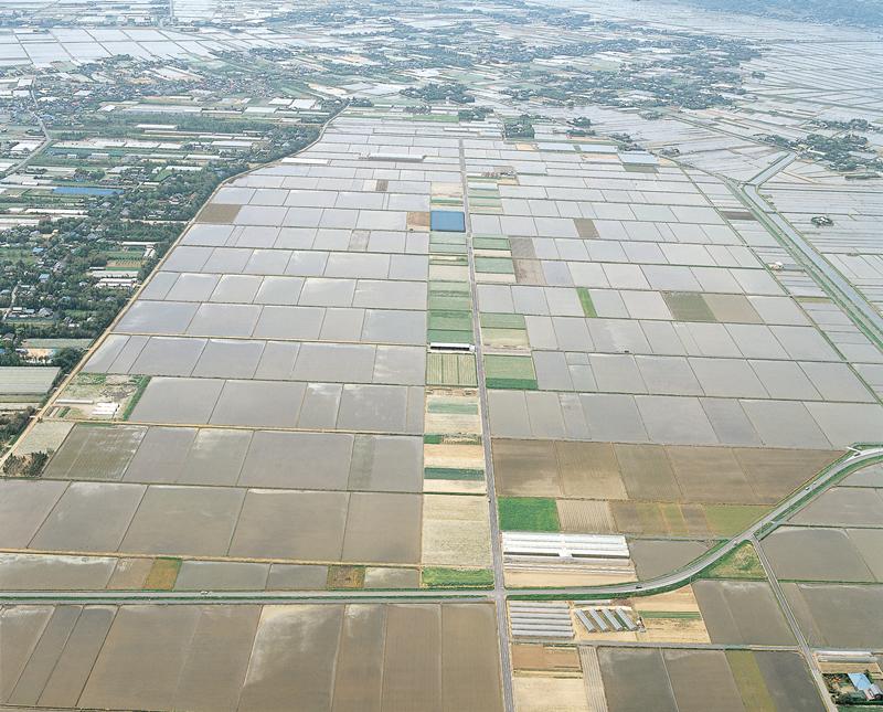 県営ほ場整備事業 琴田地区区画整理工事