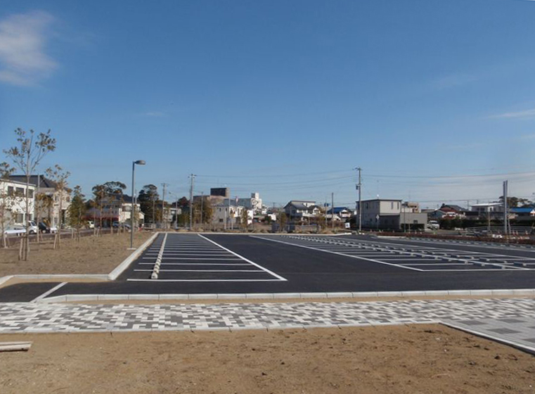 旭文化の杜公園舗装工事