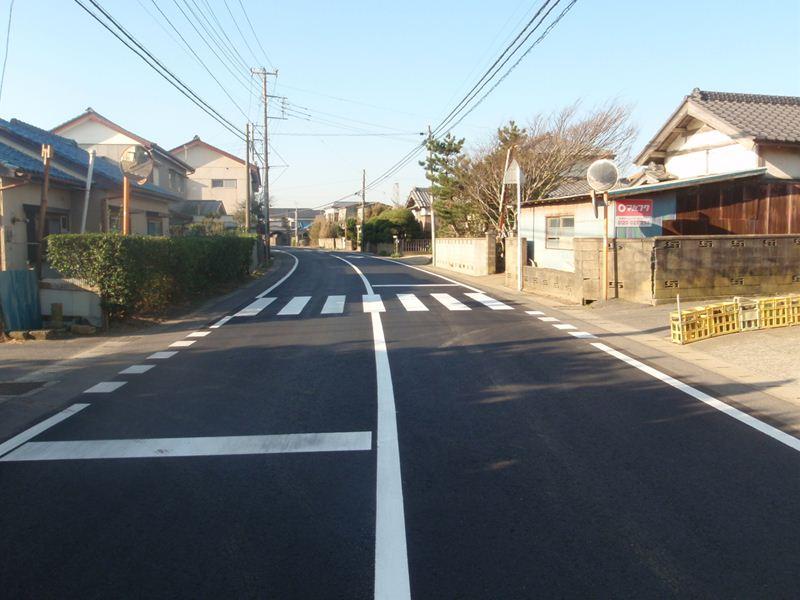 県単舗装道路修繕工事(井戸野工区)