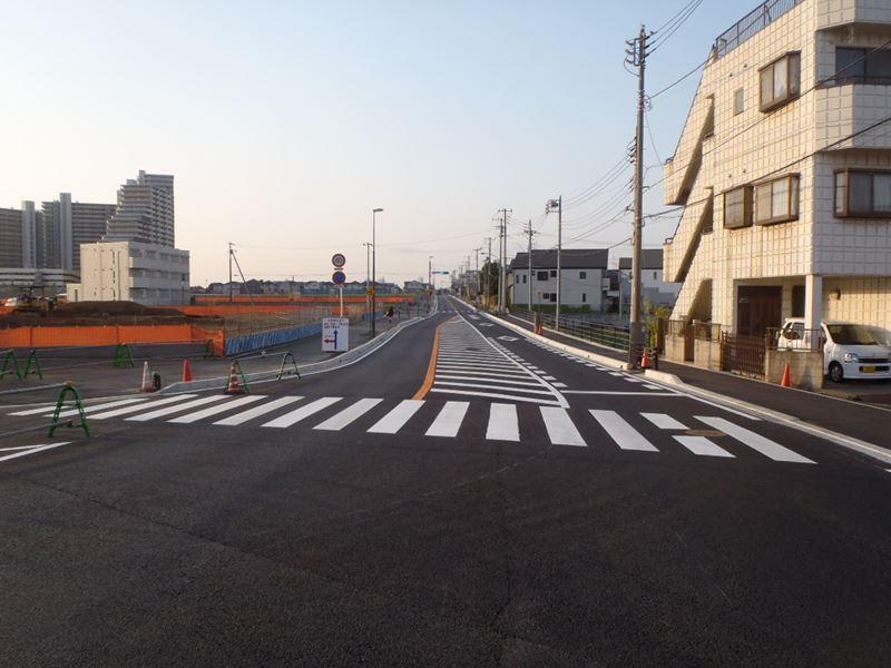 市道00-101号線道路拡幅整備工事(習志野市)