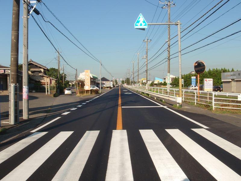 県単舗装道路修繕工事(鎌数工区)