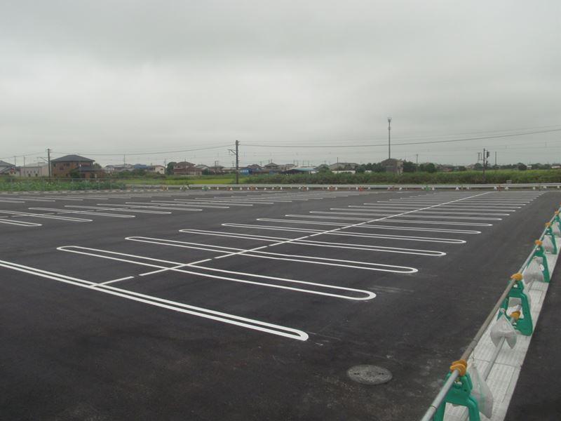 パールショップともえ八日市場店 駐車場拡張工事(匝瑳市)