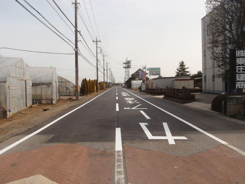 道路維持舗装工事(小座工区)(香取郡東庄町)