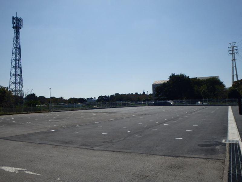店舗駐車場改修工事(印西市)