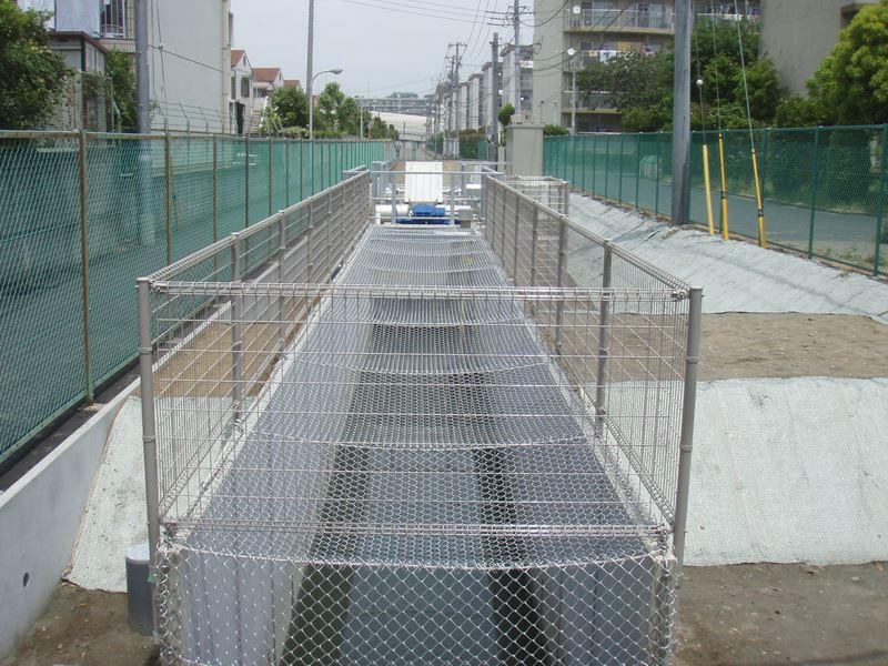 谷津3丁目ポンプゲート設置工事(習志野市)
