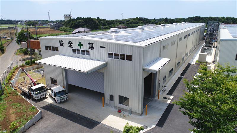 (仮称)松山鋼材株式会社塙工場CAMP5新築(旭市)