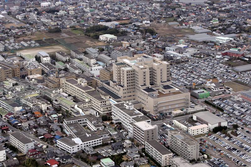 旭中央病院航空写真