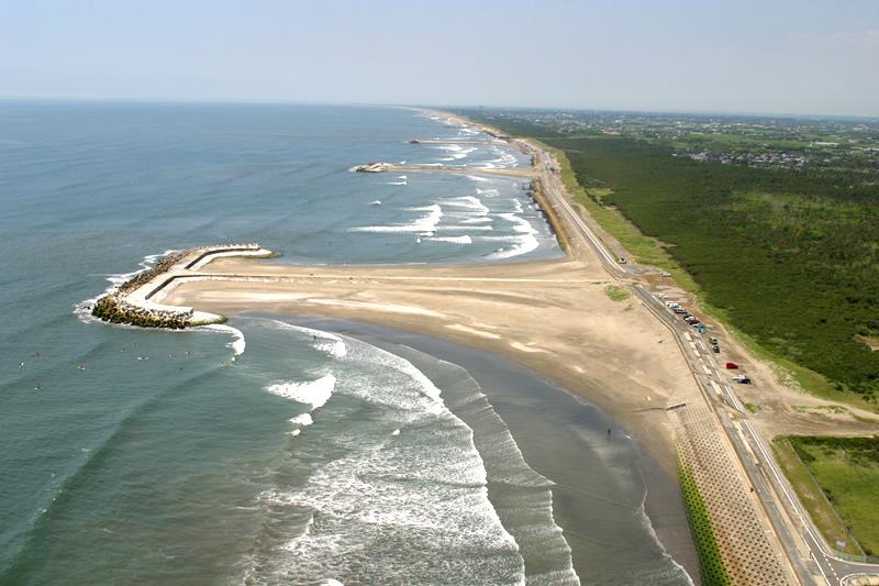 海岸高潮対策工事(駒込)