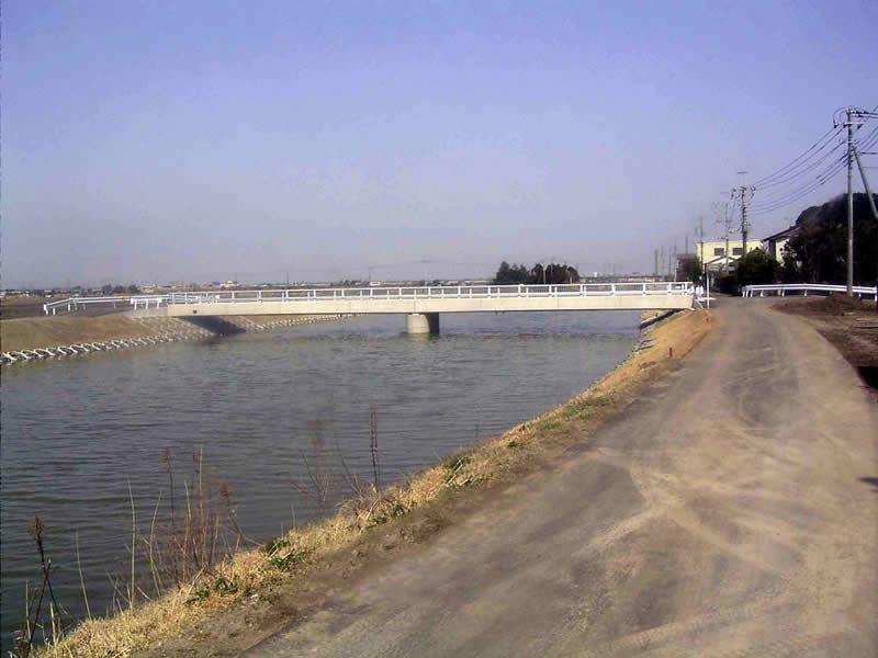 両総農業水利事業 新宿橋工事