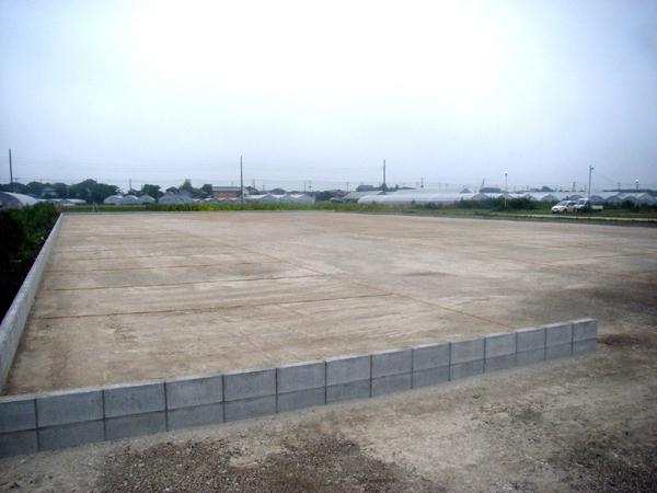 旭中央病院駐車場造成工事